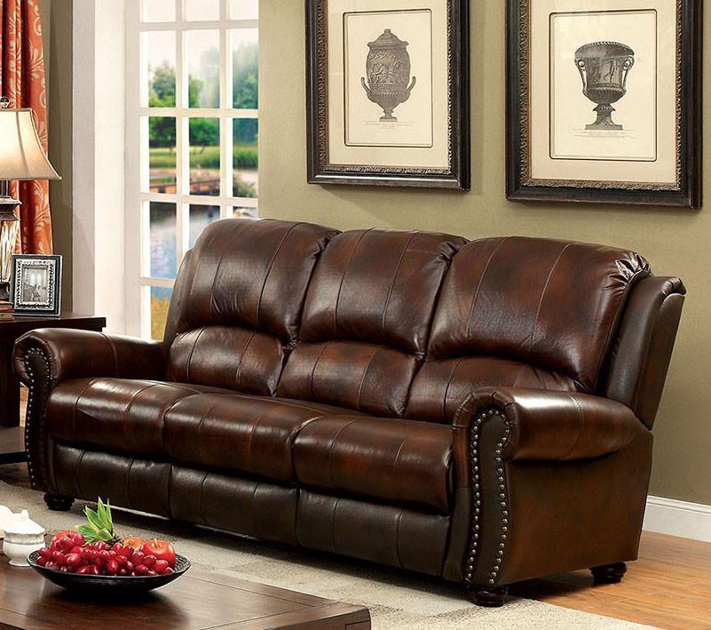 Turton CM6191 Top Grain Leather Match Love Seat