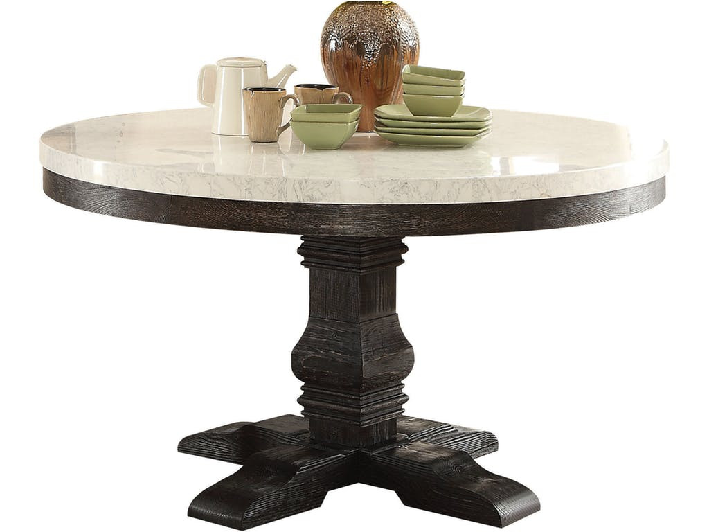 ... Round Single Pedestal Table ...