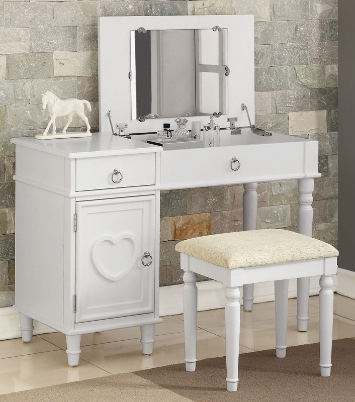Kiera Makeup Vanity Table With Mirror Makeup Table For