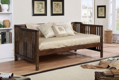 Petunia Dark Walnut Wooden bed