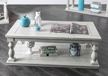 Arlington CM4520 Occasional Table in Antique White