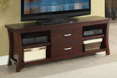 Poundex F4452 TV Cabinet w/ Drawers in Espresso
