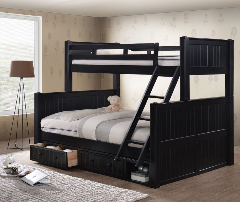 Dillon Twin Xl Over Queen Bunk Bed With Trundle