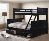 Dillon Twin XL over Queen Bunk with Optional Drawers