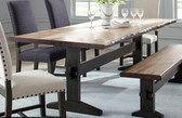 Burnham Live Edge Natural Honey Dinner Table By Scott Living
