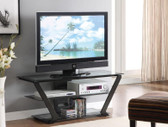 50 Inch TV Console in Black