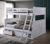 Full XL over Queen Convertible Bunk Bed