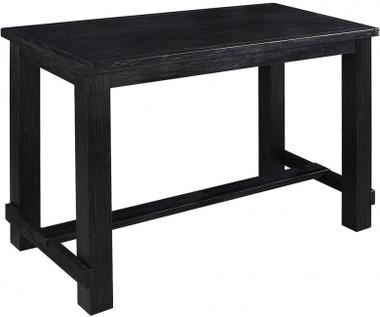 Rustic Antique Black Pub Table
