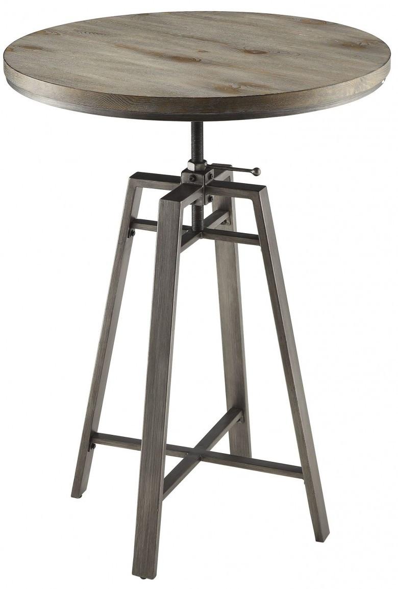 Elena Nutmeg Adjustable Height Pub Table