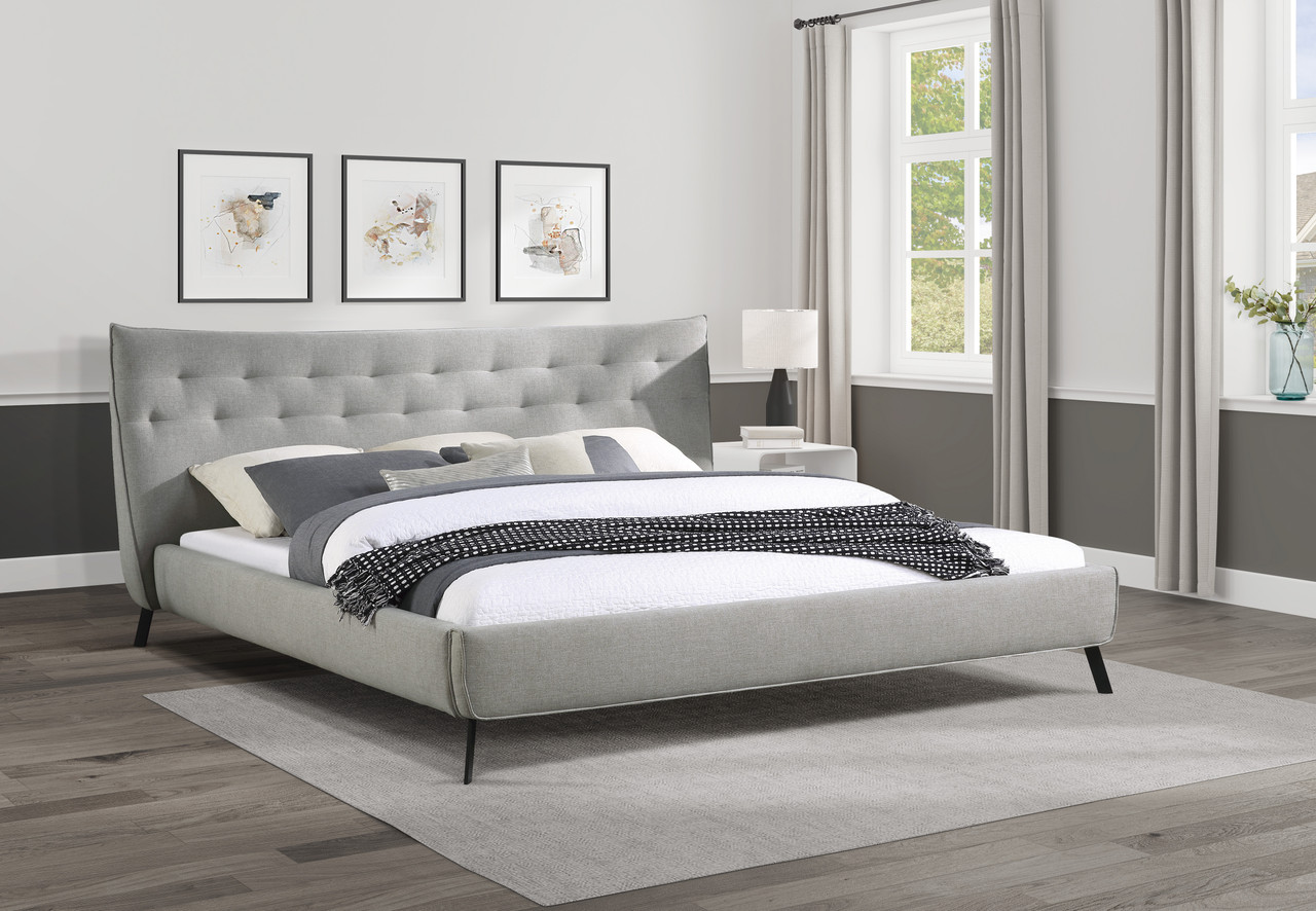Picture of: Isabel Curve Low Profile Bed In Queen And King Size