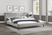 Isabel Curve Low Profile Bed