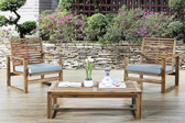 3-Pcs Outdoor Patio Conversation Set