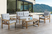 Lizkona 449 4-Pcs Outdoor Patio Set