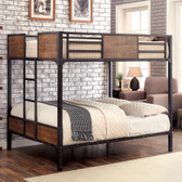 Full Size Bunk Bed Industrial Style