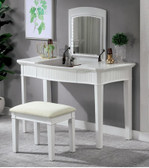 Giselle Flip-Top Vanity with Mirror & LED Light