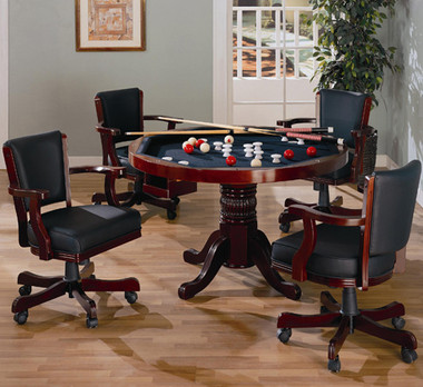 Cherry Game Table with Chairs
