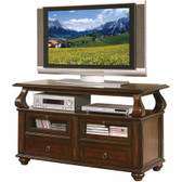 ACME 91133 TV Cabinet w/ Drawers in Walnut Finish