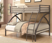 Twin Over Full Metal Bunk Bed