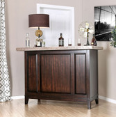 Furniture of America BT8341 Marble Bar Counter