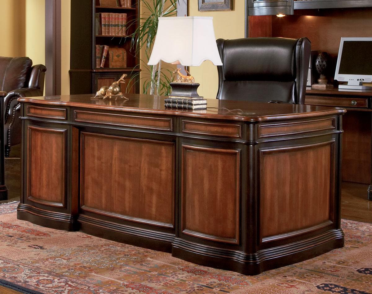 Ainsley Two Tone Home Executive Office Desk Executive Desks