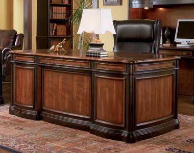 Two Tone Home Executive Office Desk