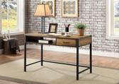 Callohan DK901 Storage Desk in Rustic Oak and Black
