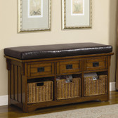 Medium Brown Storage Chest