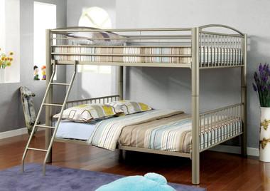 Metallic Gold Bunk Bed in Full