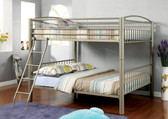 Metallic Gold Bunk Bed in Full Size