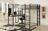 Metal Full Workstation Loft