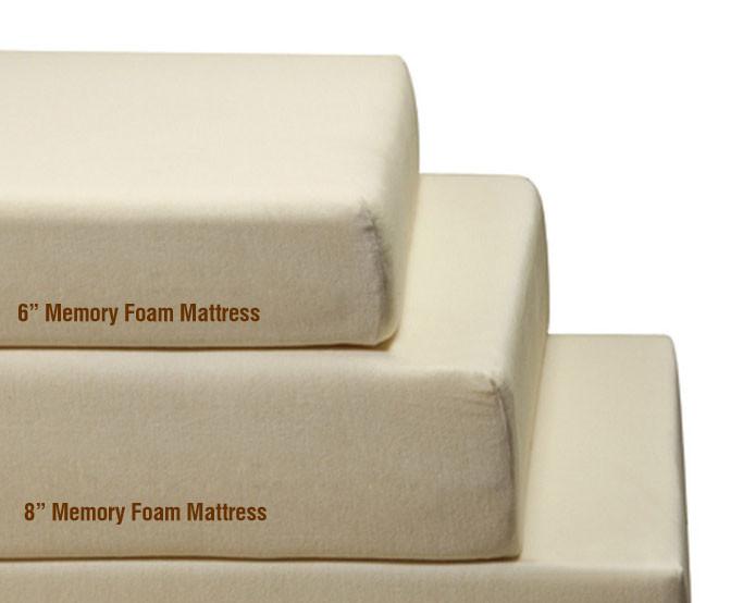 8 classic full memory foam mattress cheap memory foam mattress. Black Bedroom Furniture Sets. Home Design Ideas