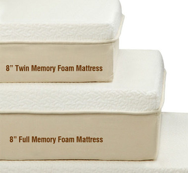 Gold Series Twin Memory Foam Mattress