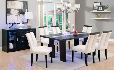 Contemporary Table Set with Lights