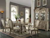 ACME 64065 Chateau De Ville Antique White Dining Set