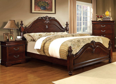 Meadows Cherry Baroque Poster Bed