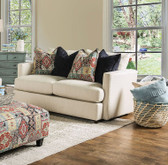 Furniture of America SM8222 Beige Chenille Love Seat | POMFRET SM8222-LV Beige Love Seat