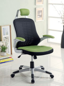 Black Green Mesh Office Chair