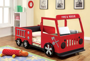 Red Fire Truck Bed