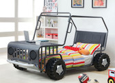 Gun Metal Rover Car Bed Frame