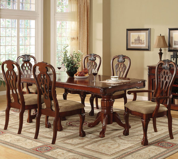 Ellings Cherry Dining Table Set