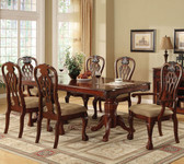 Cherry Formal Dining Table Set
