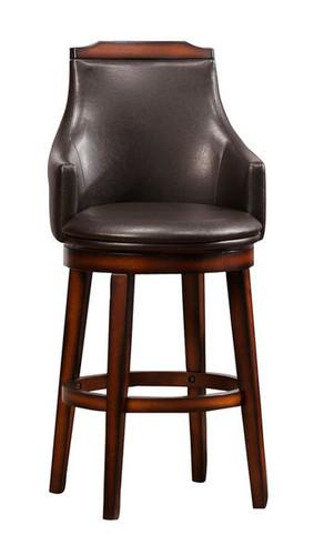 Antique Oak Swivel Pub Chairs