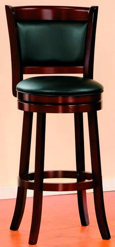 Cherry Swivel Pub Chair