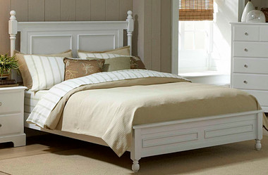 White Queen Cottage Bed
