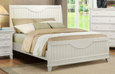 White Queen Country Bed