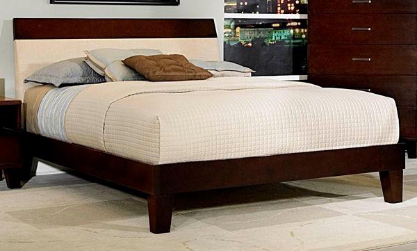 quality design 1e4ff 58b25 Colt Dark Cherry Contemporary Bed