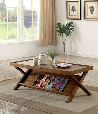 Super Caitlan Cm4177 Light Oak Occasional Table Gmtry Best Dining Table And Chair Ideas Images Gmtryco