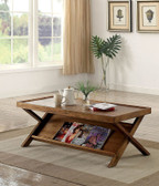 Caitlan CM4177 Light Oak Occasional Table