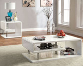 Furniture of America 4057C White Coffee Table
