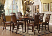Cherry Counter Height Dining Table Set